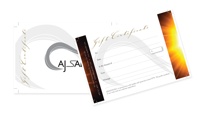 AJ Salon 361 - Brand Development