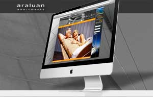 Araluan Apartments - Website